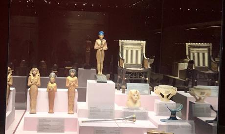 Tutankhamun display in Hurghada Museum
