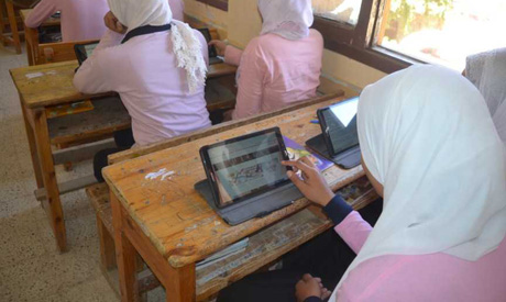 A $500 million agreement was signed to provide each student with a tablet