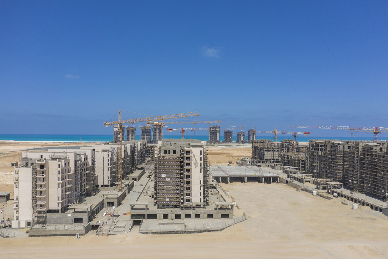 New Alamein City on the Northern Coast