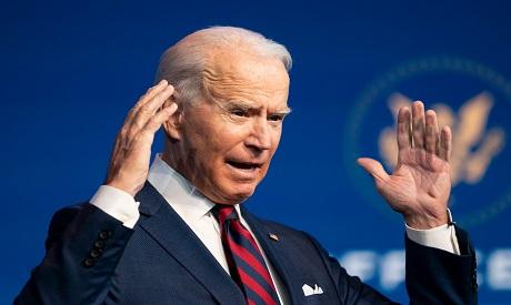 US President-elect Joe Biden. File photo AP