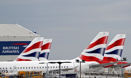 BRITAIN--BRITISH AIRWAYS –Coronavirus – Covid AFP
