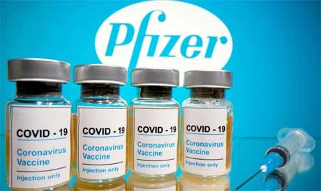 Pfizer-BioNTech coronavirus vaccine ( Reuters)