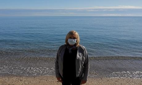 British resident Michelle Jones in Fuengirola, Spain REUTERS