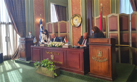 Egypt, Greece sign maritime border demarcation agreement