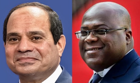 El-Sisi and Tshisekedi