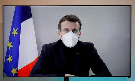 French President Emmanuel Macron. AFP