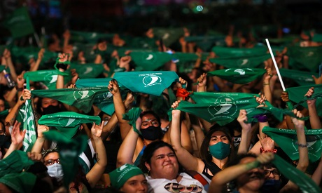 Argentine Senate grants final approval to abortion bill