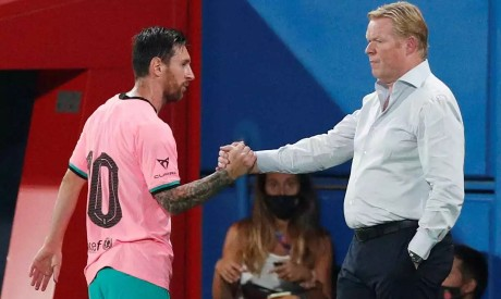 Koeman and Messi