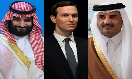GCC Leaders and US Presidential aide