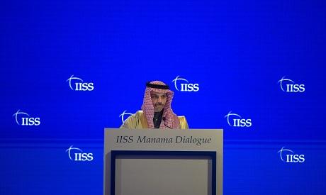 Saudi Foreign Minister Faisal bin Farhan al-Saud AFP