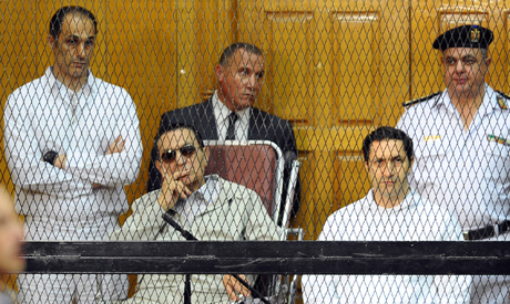 Mubarak and sons