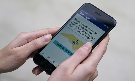 California becomes biggest USA state to launch virus contact-tracing app