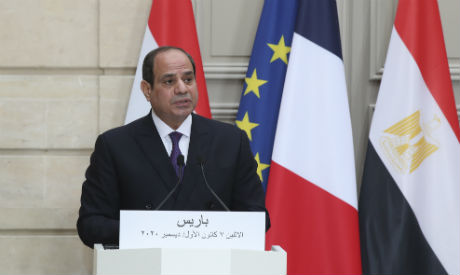Egypt President Abdel-Fattah El-Sisi