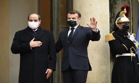 Sisi, Macron