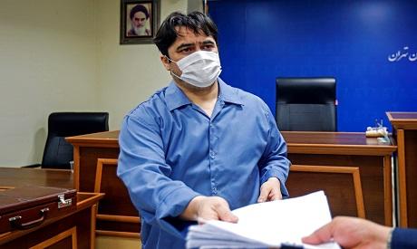 Iranian dissident journalist Ruhollah Zam AFP