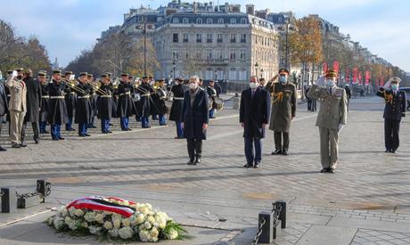 President Abdel-Fattah El-Sis in France