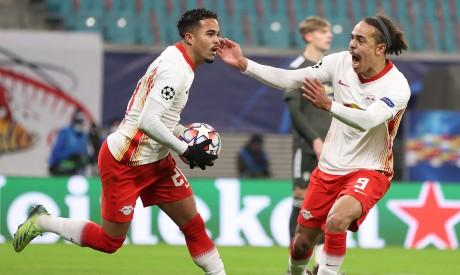 Leipzig v Manchester United