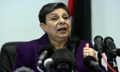 PLO executive committe member, Hanan Ashrawi