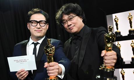 Bong Joon Ho and Han Jin Won