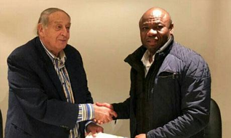 Nigerian coach Amunike