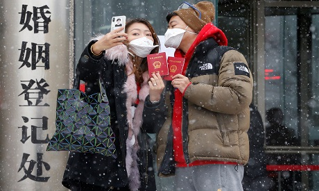 Couple in China