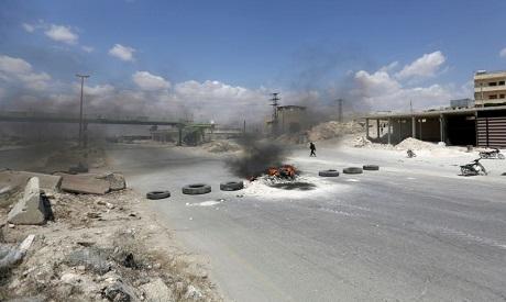 Damascus-Aleppo highway
