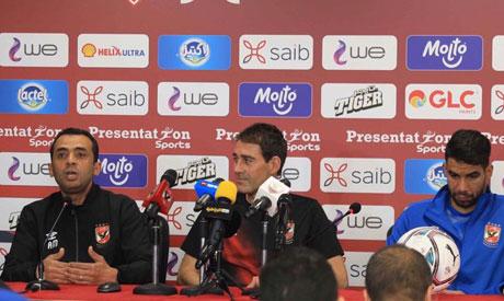Ahly coach Rene Weiler