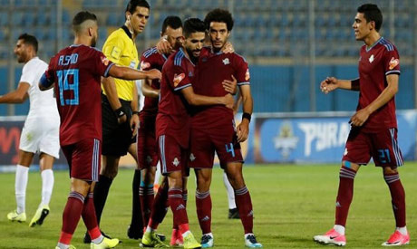 Pyramids FC players (Al-Ahram)
