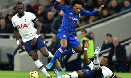 Chelsea and Tottenham