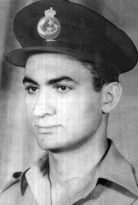young Royal Egyptian Air Force Lieutenant