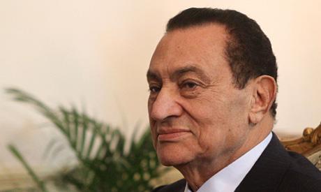 Former Egyptian President Hosni Mubarak (AFP)