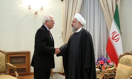 Josep Borrell & Hassan Rouhani