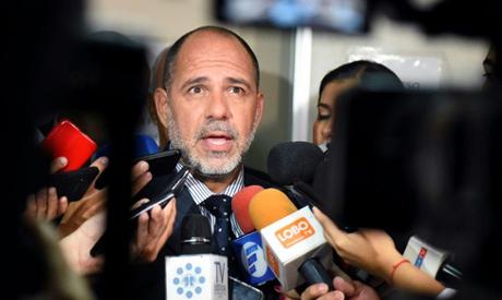 Paraguayan judge Gustavo Amarilla
