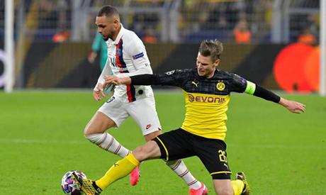 PSG v Borussia Dortmund