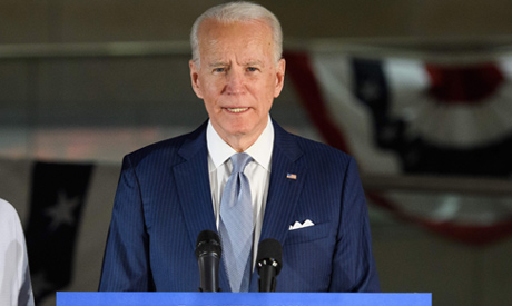 Democratic presidential hopeful former Vice President Joe Biden (AFP)