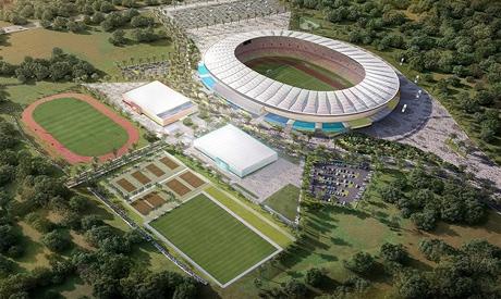 Japoma Stadium in Douala, Cameroon (Photo: AFP)