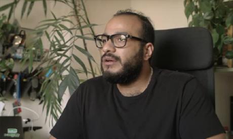 Egyptian multidisciplinary designer, artist Mohamed Gaber