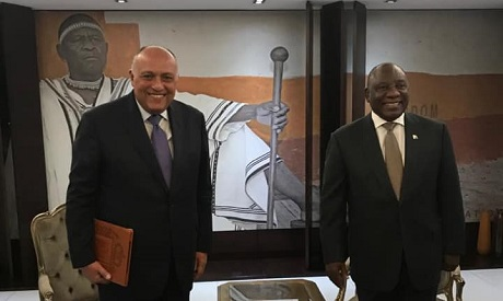 Shoukry and Ramaphosa
