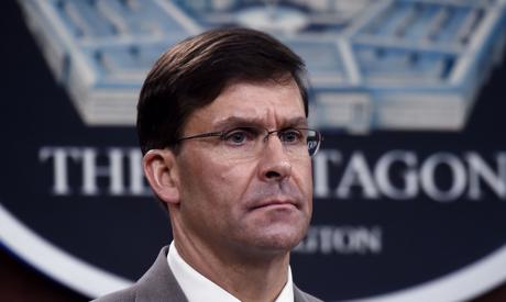 Secretary of Defense Mark Esper (AFP)