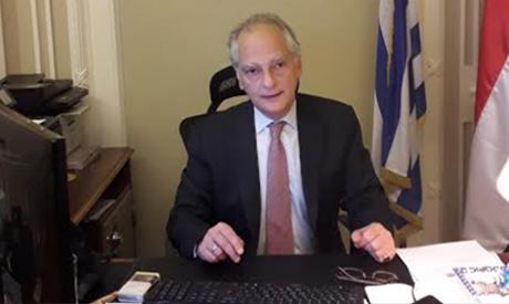 Greek Ambassador in Egypt Nikolaos Garilidis