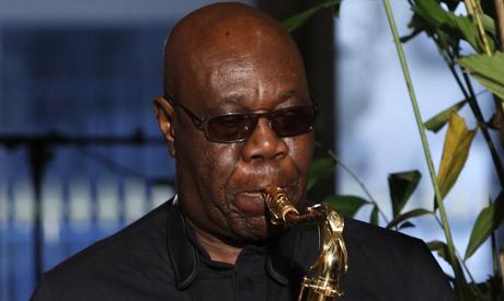 saxophonist Manu Dibango (AP)