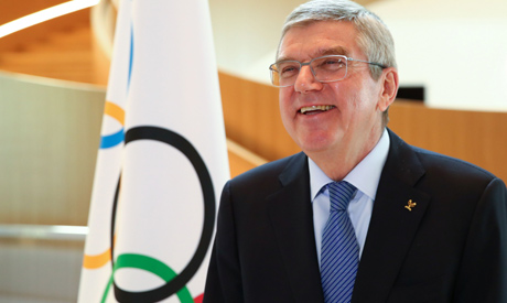International Olympic Committee (IOC) President Thomas Bach (AFP)