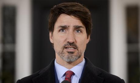 Prime Minister Justin Trudeau addresses