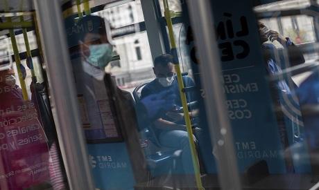 Virus Outbreak Transportation Spain