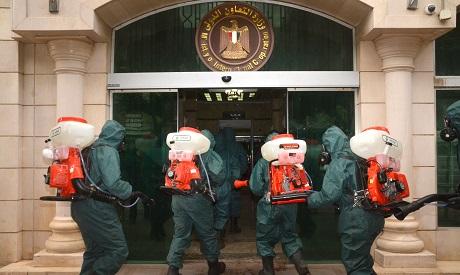Egypt Health workers virus