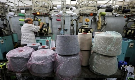Egypt factory worker