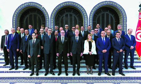New government in Tunisia