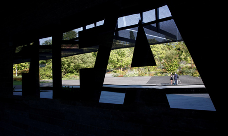 General view of the FIFA logo (Reuters)