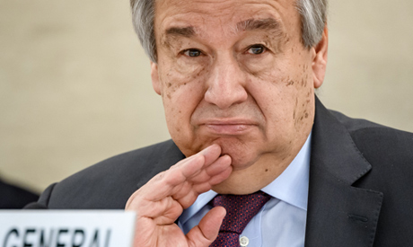 UN Secretary-General Antonio Guterres (AFP)