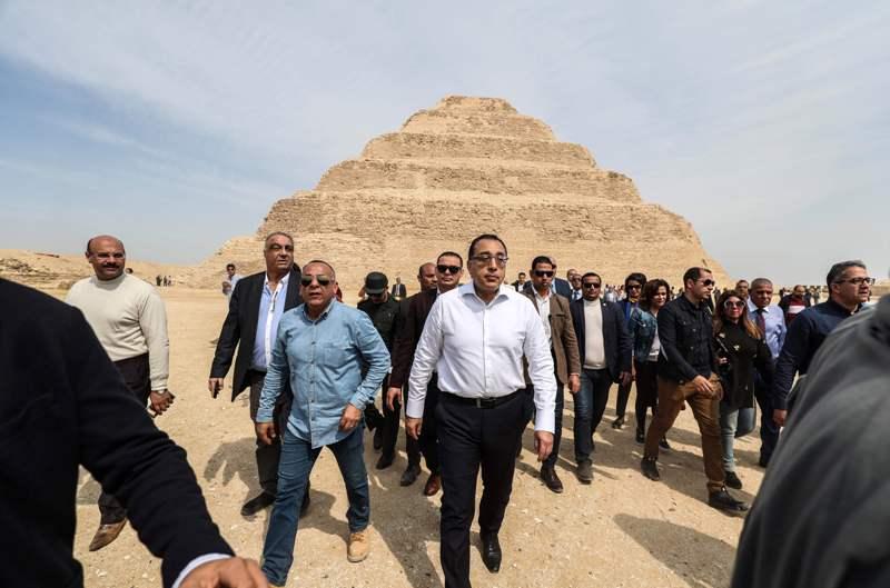 Egyptian Prime Minister Mostafa Madbouli